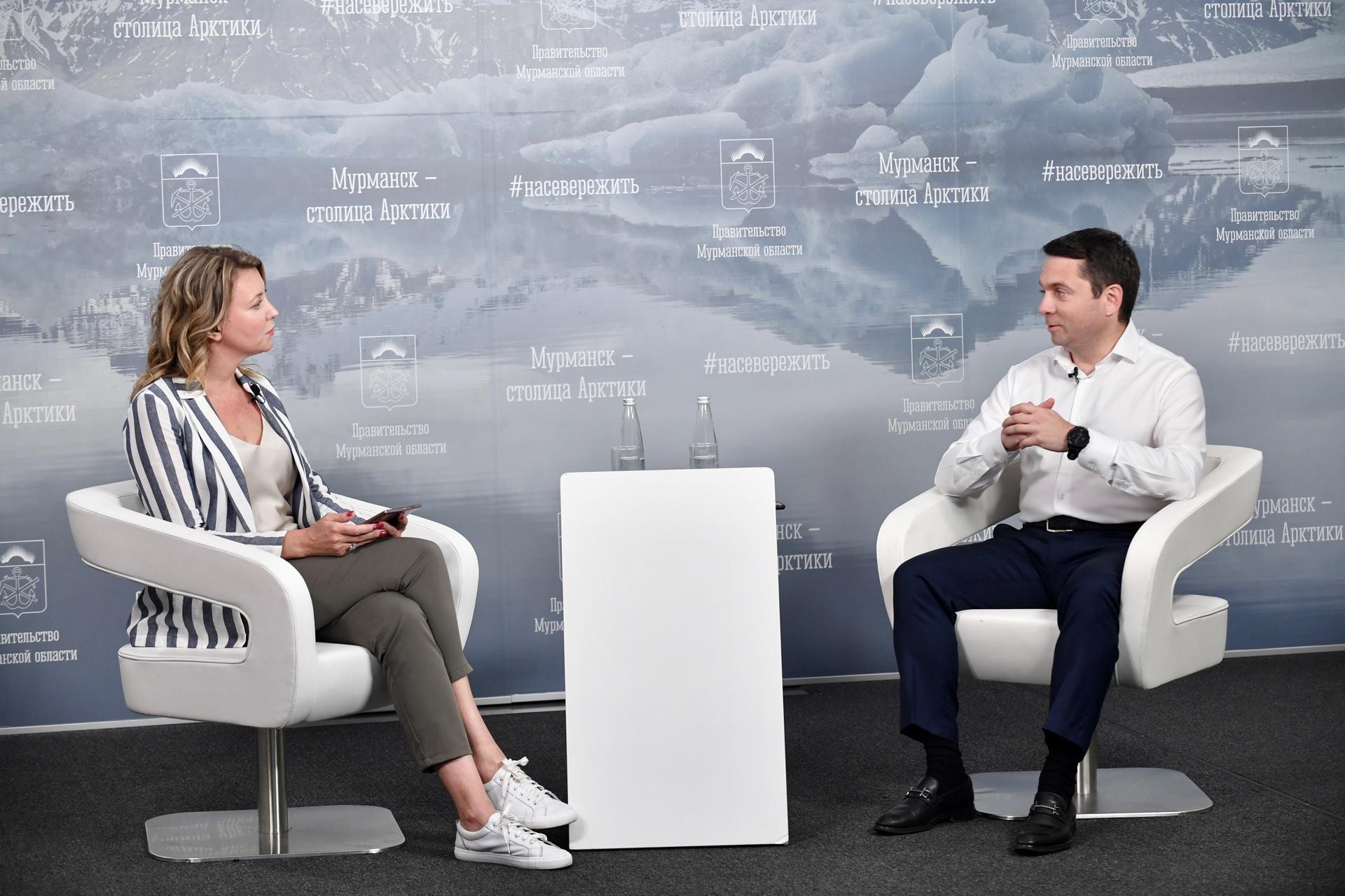 Губернатор Мурманской области поддержал проект по организации переработки шин