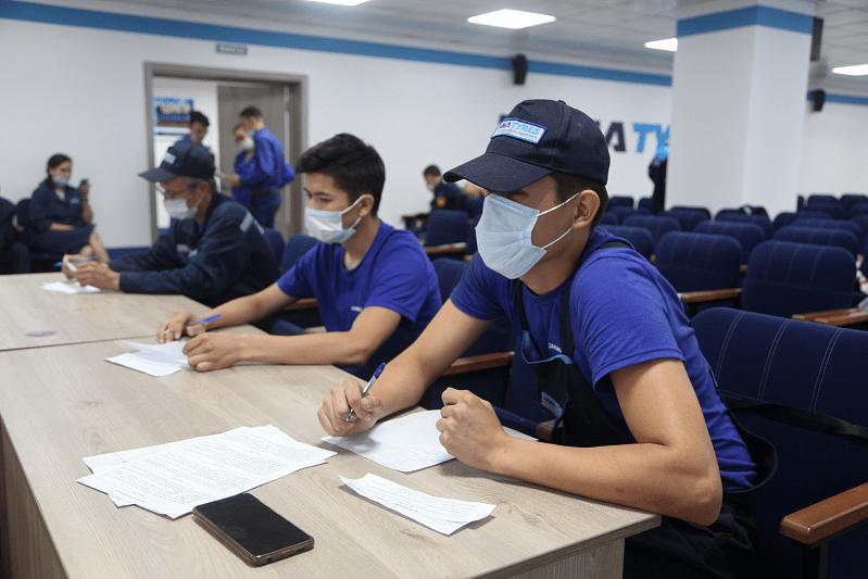 Первые работники завода KamaTyresKZ прошли обучение на предприятиях компании Kama Tyres