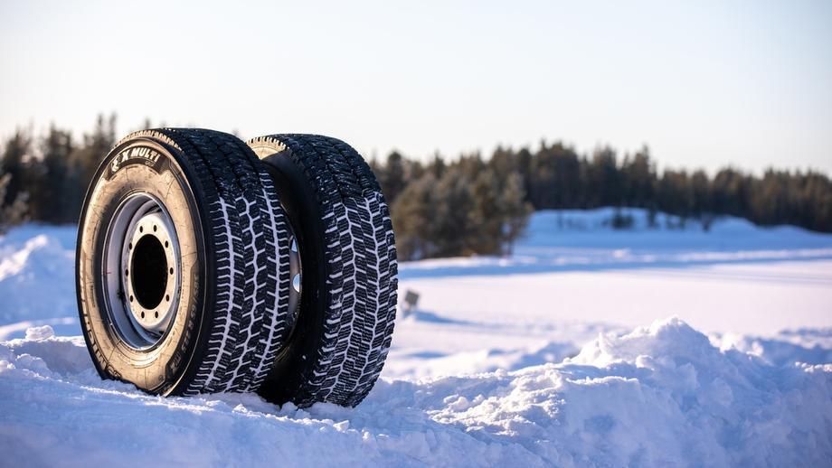 Мишлен представила новую линейку зимних шин X Multi Grip для грузовых автомобилей