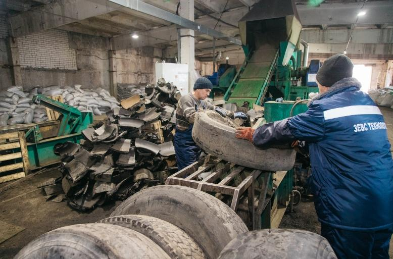 В «Технопарке-Липецк» появилось предприятие по экологичной переработке старых покрышек
