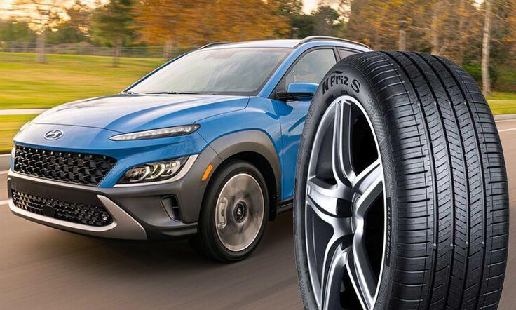 Обновленный Hyundai Kona в стандартной комплектации получит шины Nexen