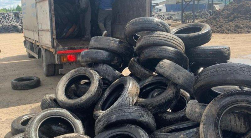 Мострансавто сдало на переработку свыше 2 000 шин