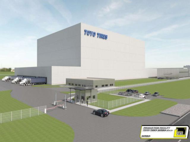 Завод Toyo в Сербии планируют открыть в апреле следующего года