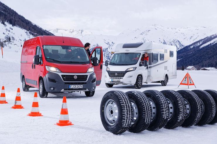 Tест зимних шин для коммерческих автомобилей 225/70 R15 2018