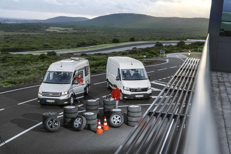 Promobil: Тест летних шин размера 235/60 R17C 2019