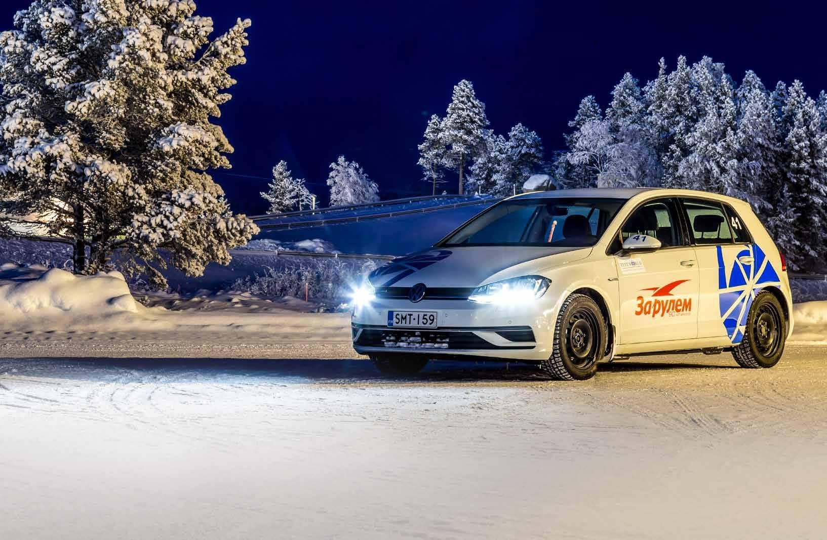 За рулем: Тест зимних шипованных шин 205/55 R16 2019
