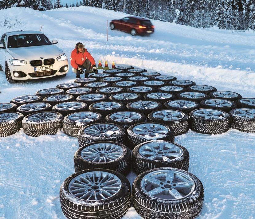 Auto Bild: Большой тест зимних шин 225/45 R17 2019