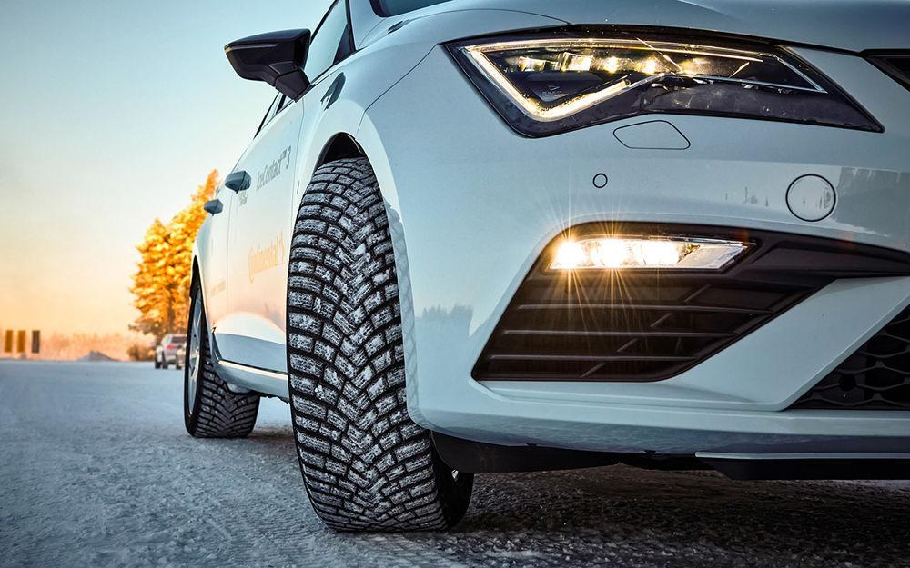 За рулем: Тест новых зимних шин Continental — с гибкими шипами!