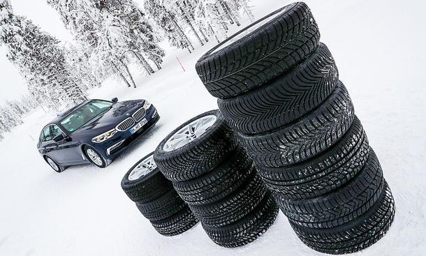 Auto Zeitung: Тест зимних шин 225/55 R17 2019