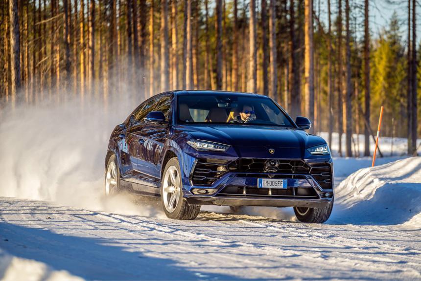 Авторевю: Тест покрышек омологированных для суперкаров Pirelli Scorpion Ice Zero 2
