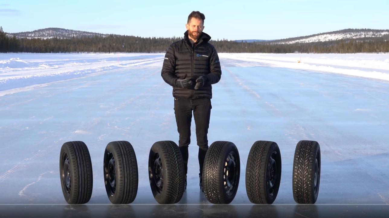 Tyre Reviews: Тест зимних альпийских, нордических, шипованных, летних и всесезонных шин 2019