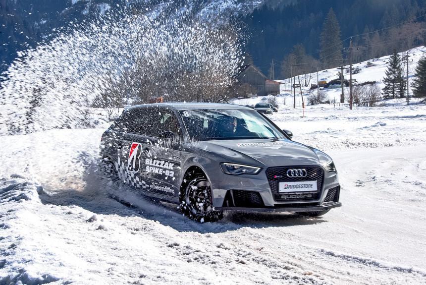 Авторевю: Оцениваем зимние шины Bridgestone с шипами и без