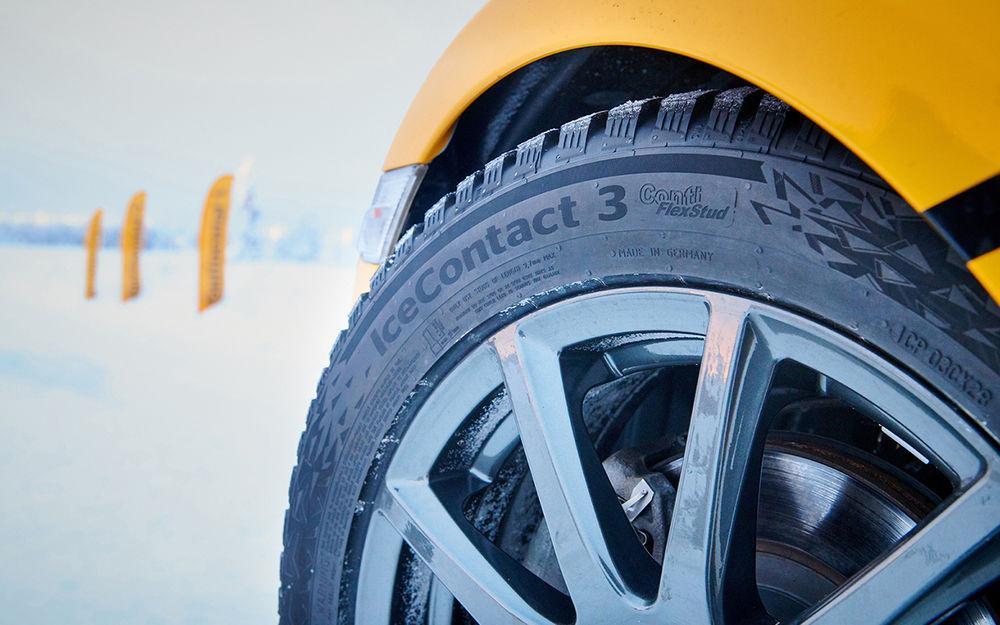 За рулем: Шиповки, которые тише фрикционок? Есть такие шины!