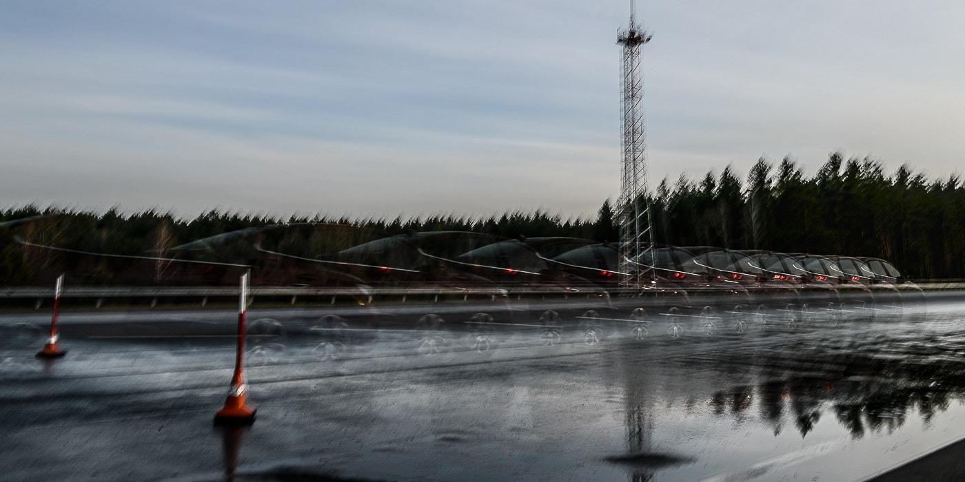 Onliner.by : Тормозной тест зимних шин на мокром асфальте