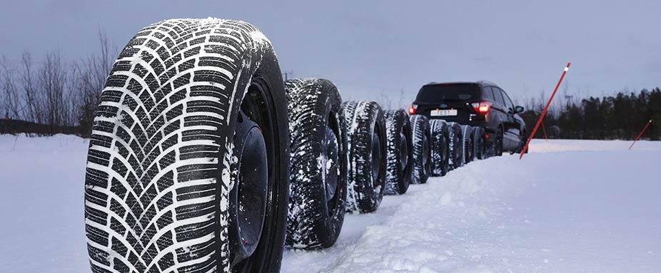 Тест зимних нешипованных шин 235/55 R17 (ADAC, сентябрь 2020)