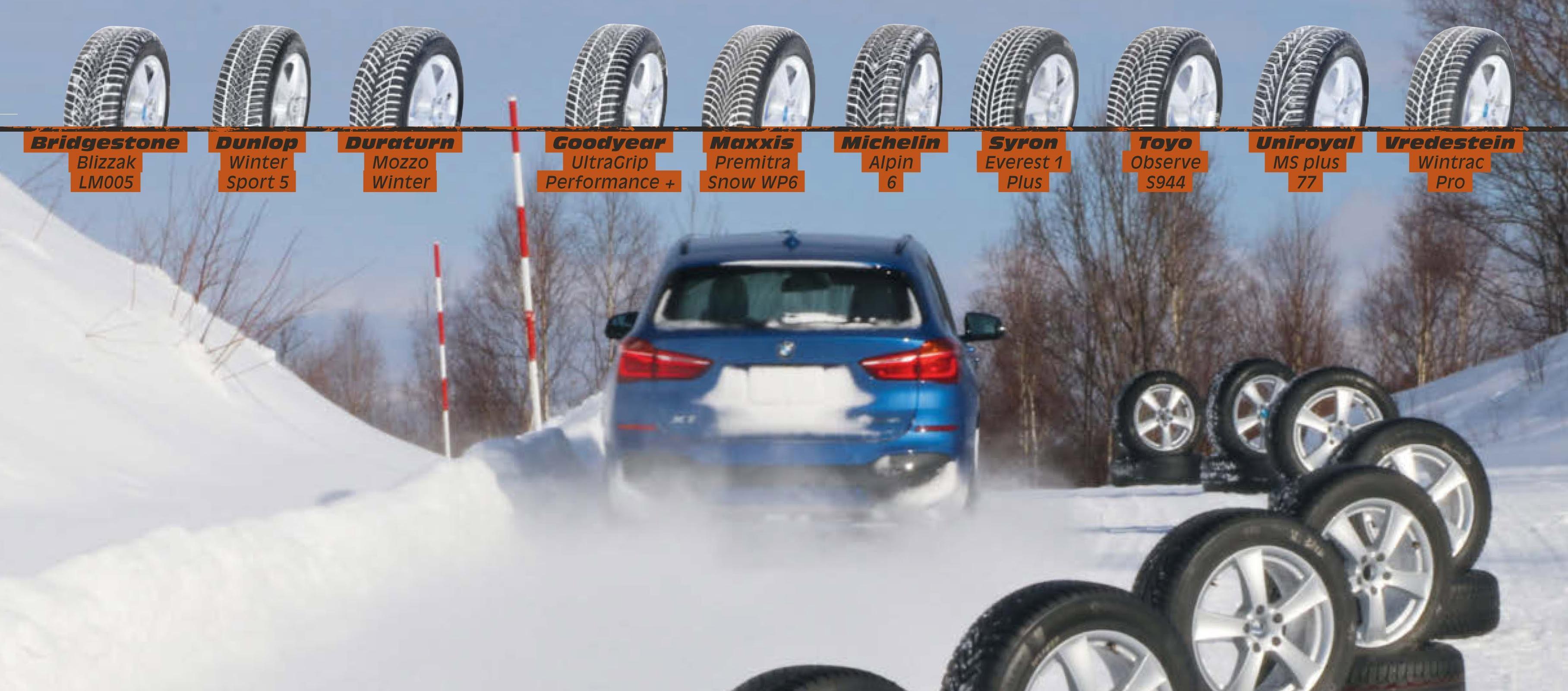 Тест зимних нешипованных шин 225/55R17