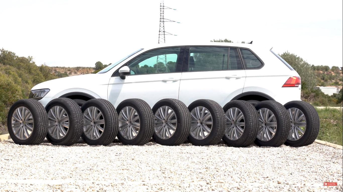 Тест летних SUV-шин 235/55 R18
