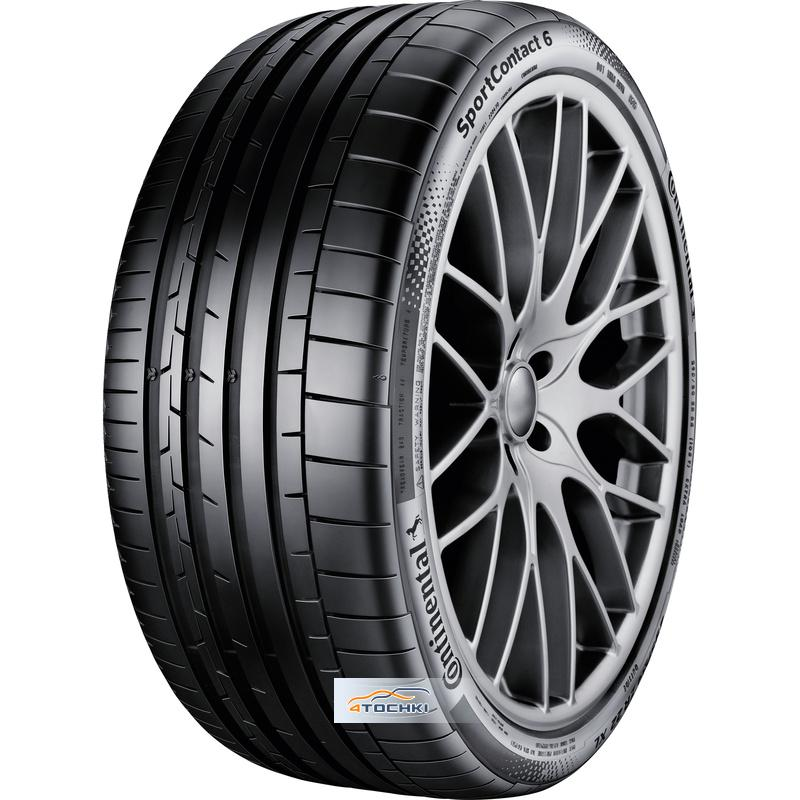Шины Continental SportContact 6 255/40ZR19 100Y XL