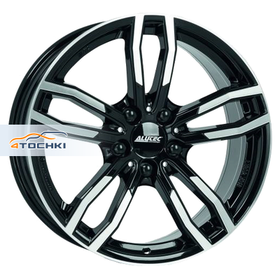 Диски Alutec Drive Diamant black front polished 7,5x17/5x120 ЕТ32 D72,6