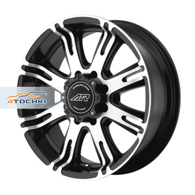 Диски American Racing AR708 Black/Machined 9,5x22/8x165,1 ЕТ0 D125