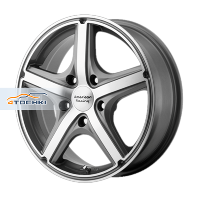 Диски American Racing AR883 Anthracite/Machined 7,5x17/5x108 ЕТ40 D72,62