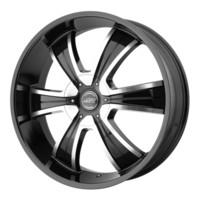 American Racing AR894 Black/Machined