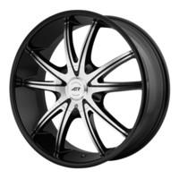 American Racing AR897 Black/Machined