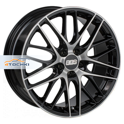 Диски BBS CS Black + Diamond Cut 7,5x17/5x112 ЕТ46 D57