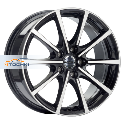 Диски Borbet BL5 Black Polished Glossy 7x16/5x114,3 ЕТ40 D72,5
