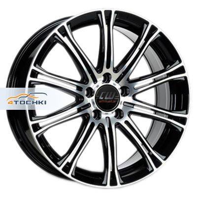 Диски Borbet CW1 Black polished 7x17/5x114,3 ЕТ40 D72,5