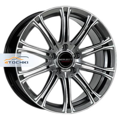 Диски Borbet CW1/5 Hyper Silver 8x17/5x120 ЕТ35 D72,5