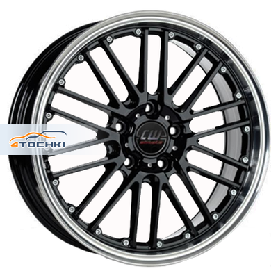 Диски Borbet CW2/5 Black Rim Polished 7x17/5x100 ЕТ35 D64,1