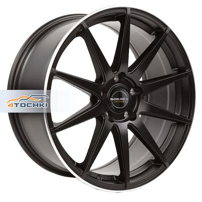 Диски Borbet GTX Black Rim Polished Matt 9,5x19/5x112 ЕТ21 D66,5