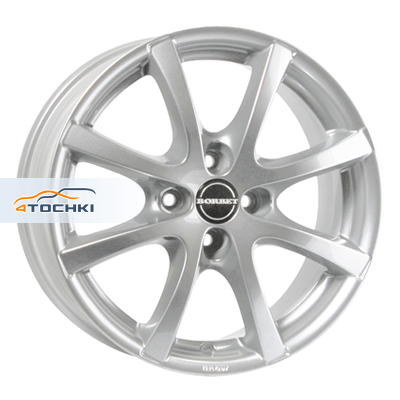 Диски Borbet LV4 crystal silver 7x16/4x98 ЕТ35 D58,1