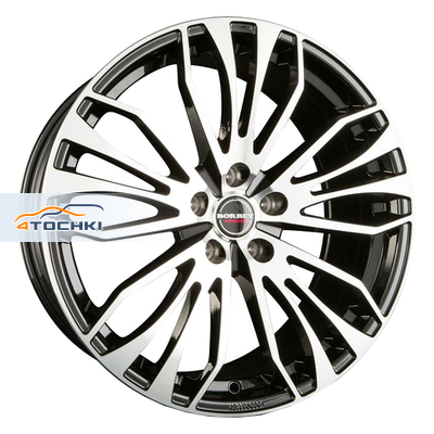 Диски Borbet RB Black polished 8,5x19/5x114,3 ЕТ45 D72,5