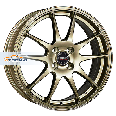 Диски Borbet RS Bronze matt 7,5x18/5x100 ЕТ38 D57,1