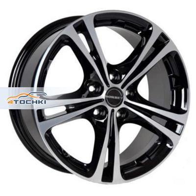 Диски Borbet XL Black polished 7,5x17/5x110 ЕТ40 D72,5