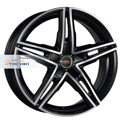 Диски Borbet XRS Black polished 8x18/5x120 ЕТ30 D72,5