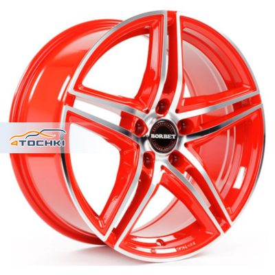Диски Borbet XRT Red Front Polished 8x18/5x112 ЕТ35 D72,5