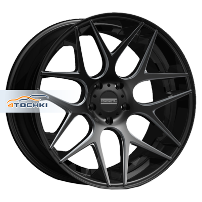 Диски Fondmetal STC-MS Matt Black Milled 10,5x20/5x112 ЕТ19 D66,5