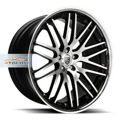 Диски Lexani CVX44 Black/Machined/Chrome Lip 9x20/5x120 ЕТ20 D74,1