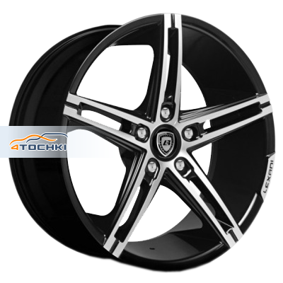 Диски Lexani R3 Black/Machined 8,5x19/5x112 ЕТ50 D74,1