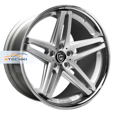 Диски Lexani R5 Silver/Machined/Chrome Lip 8,5x20/5x112 ЕТ35 D74,1