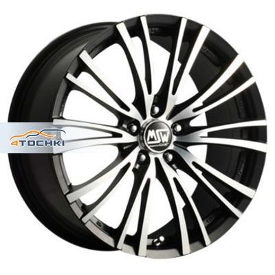 Диски MSW 20/5 Matt Black Full Polished 8x17/5x108 ЕТ40 D73,1