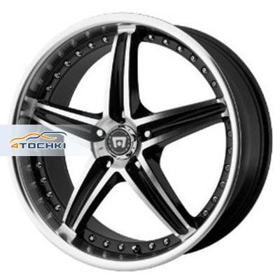 Диски Motegi Racing MR107 Black/Machined