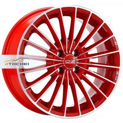 Диски OZ 35 TH Serie Rossa Red + Diamond Cut 7x16/4x100 ЕТ37 D68