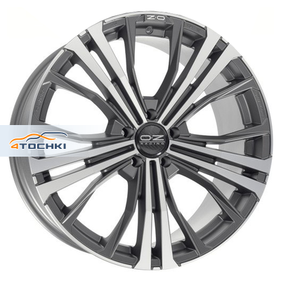 Диски OZ Cortina Matt Dark Graphite Diamond Cut 10x19/5x112 ЕТ31 D75