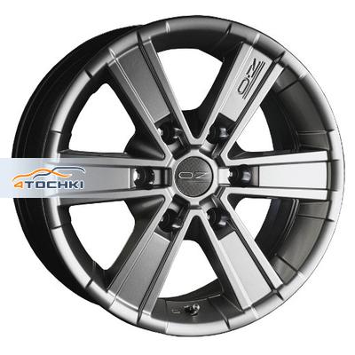 Диски OZ Off-road 6 Metal Titanium 7x16/6x127 ЕТ35 D78,1