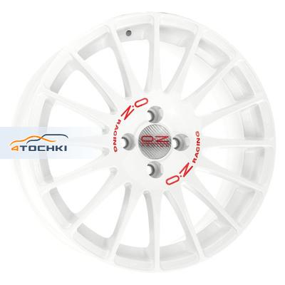 Диски OZ Superturismo WRC White + Red Lettering