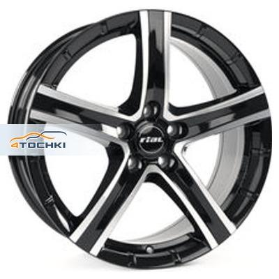 Диски Rial Quinto Diamant black front polished 8,5x19/5x108 ЕТ40 D63,4
